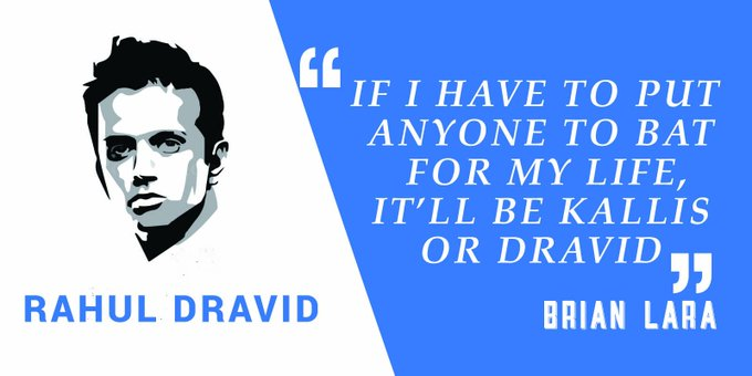 Happy birthday to the great wall of india Rahul Dravid