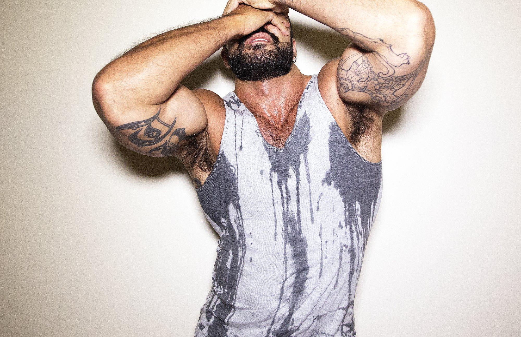 RT @theFLEXwebsite: Want @RoganRichards jizz stained clothes? Buy his tanktop today https://t.co/zdORed0ySh https://t.co/GEC5PKfecm