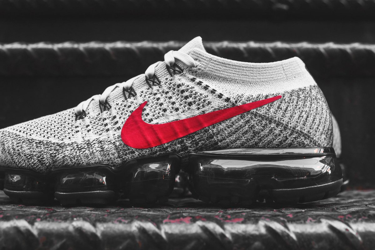 low priced 79b46 651e2 ... kicks deals canada on twitter out now nike air vapormax flyknit  heritage grey for 255 +