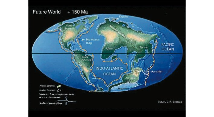 250 million years in the future