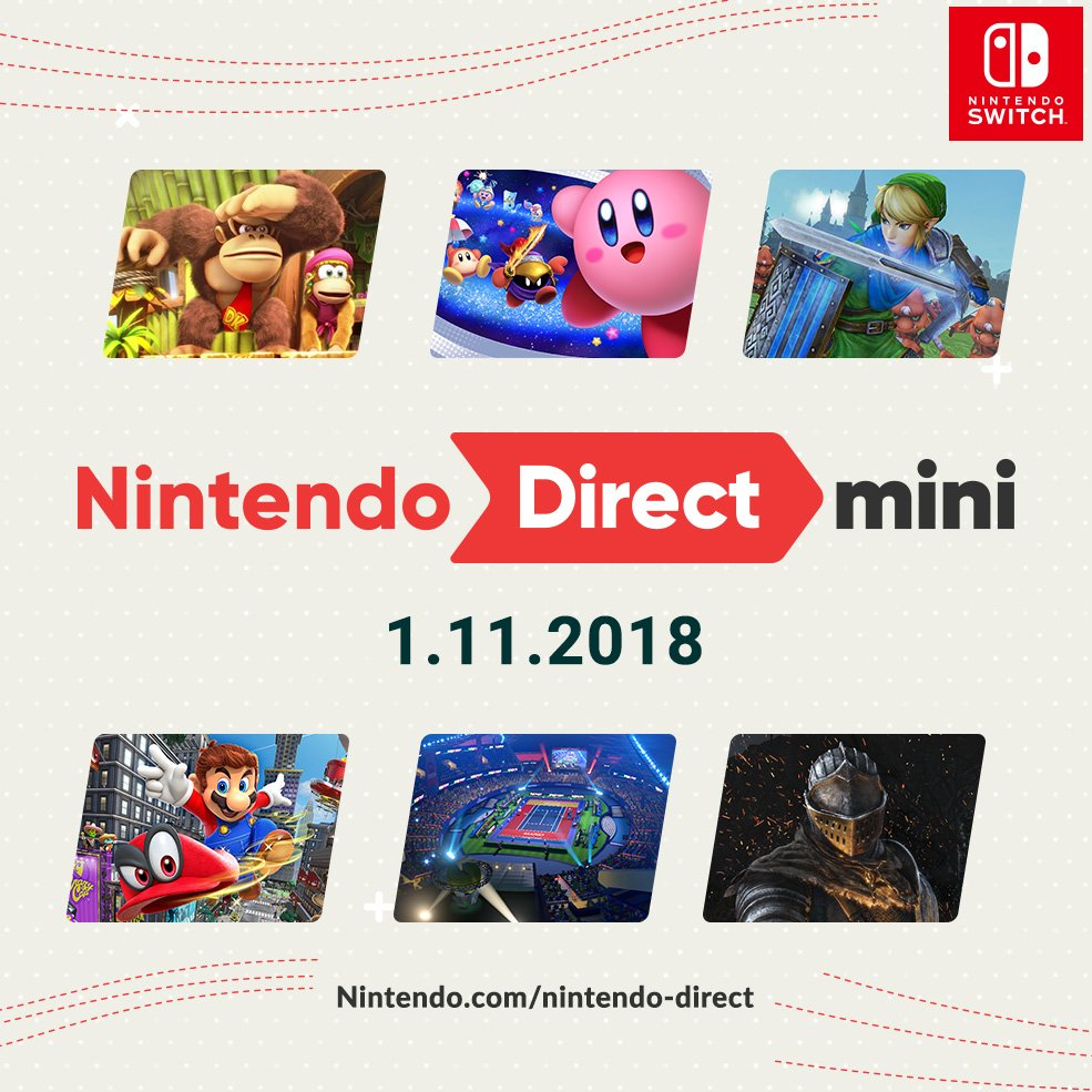 nintendo of america on twitter a nintendo direct mini is here