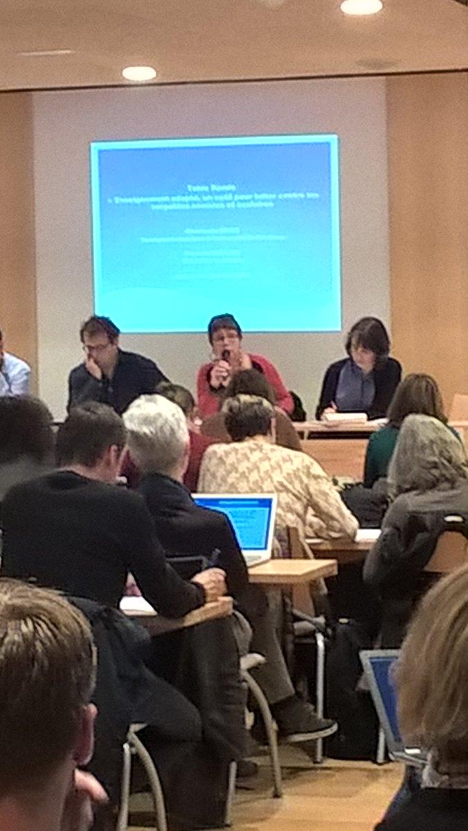 Table ronde enseignement adapté, outil pour lutter contre les inégalités ! C.Roiné, P.Moullet #SEGPAsnuipp https://t.co/5tck9kd6ve