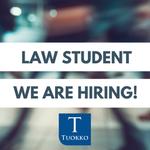 Hei lakiopiskelija! oletko osa-aikaista työtä vailla? Hae meille!   #vero #laki #oikeustieteellinen @helsinkiuni https://t.co/GrYpEMwECl