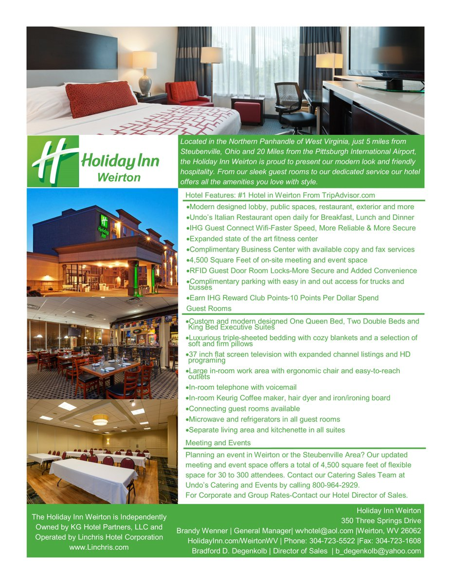 1 Hotel In Weirton From Http Tripadvisor Find Out More About The Holiday Inn At