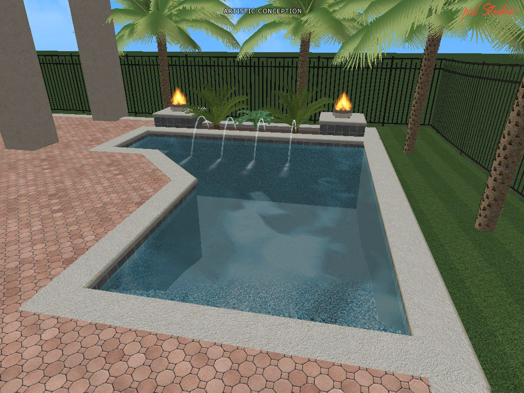 3d Swimming Pool Design Software. Magnificent Swimming Pool Designs ...