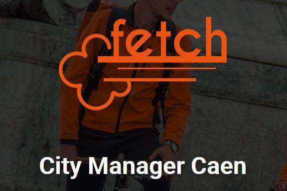 #Job Fetch, #startup proposant un service de livraison de repas de restaurants, recrute un(e) City Manager à #Caen pour se…