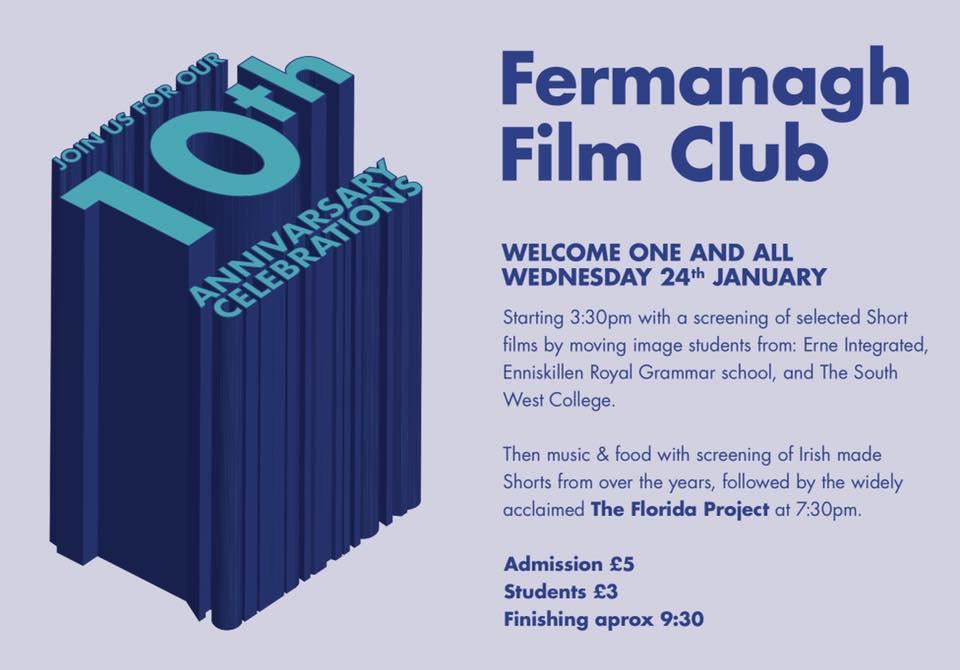 Fermanagh Film Club 10th Anniversary