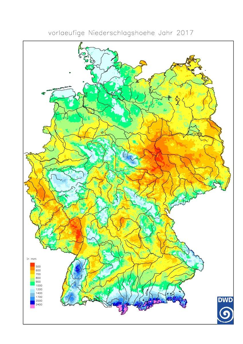 Niederschläge deutschland