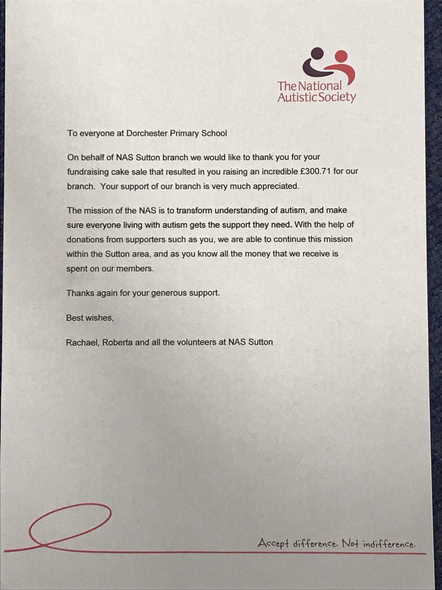 Mrs Hall On Twitter Nassutton Sent Us This Lovely Letter And A