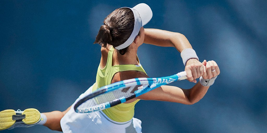 Sunshine + @stellamccartney �� @adidastennis --- #tennis #createdwithadidas #AusOpen https://t.co/GM2KQi9aL5