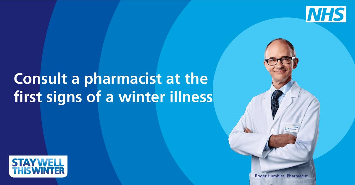 Pharmacists can advise on a wide range o...