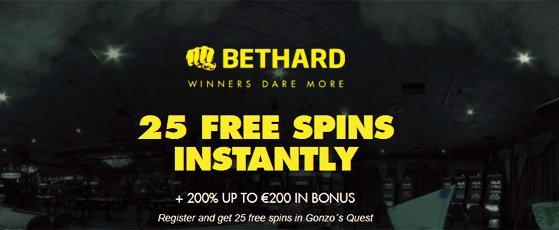 Bethard no deposit free spins