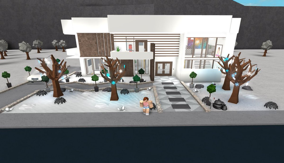 My new modern house 1 6 welcometobloxburg bloxburg pic twitter com rcmvbftm84