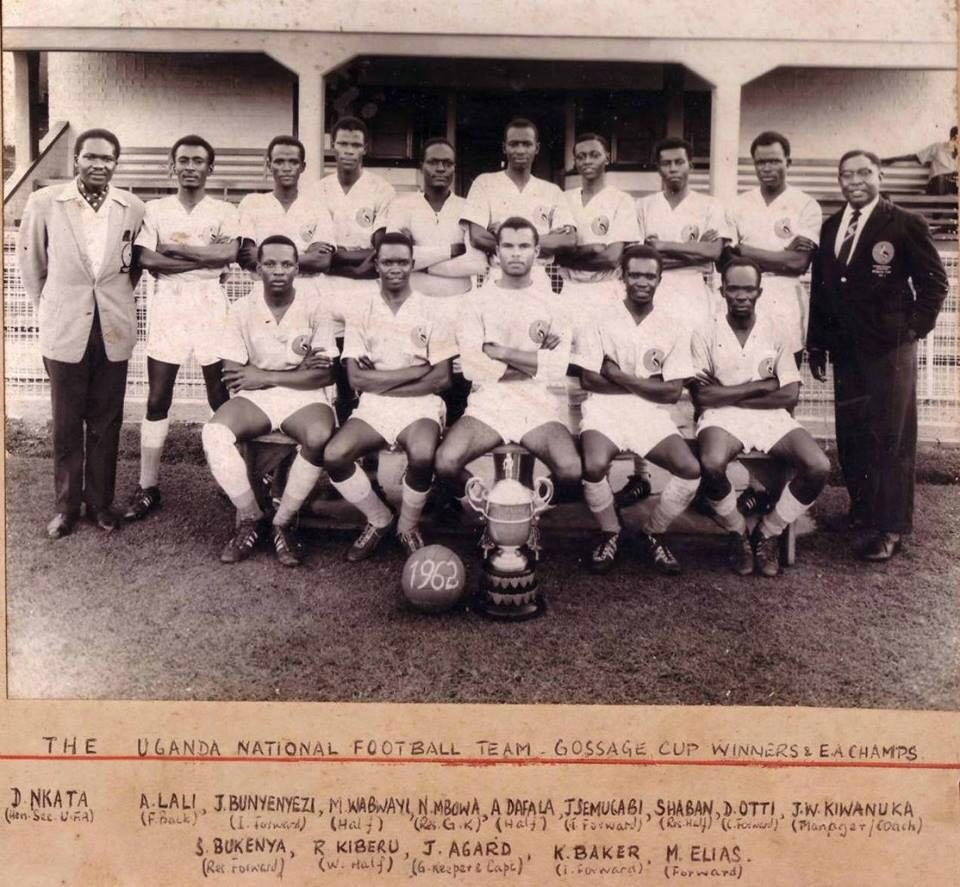 Image result for uganda football 1962