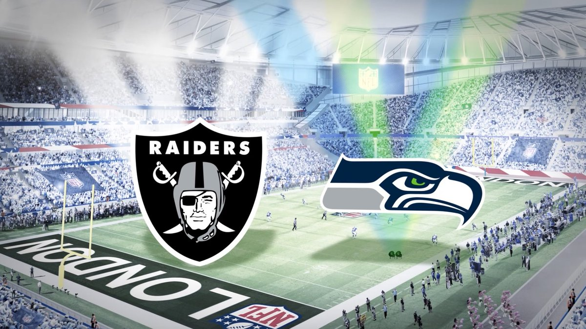 Raiders and Seahawks will play first National Football League  match at Spurs new stadium