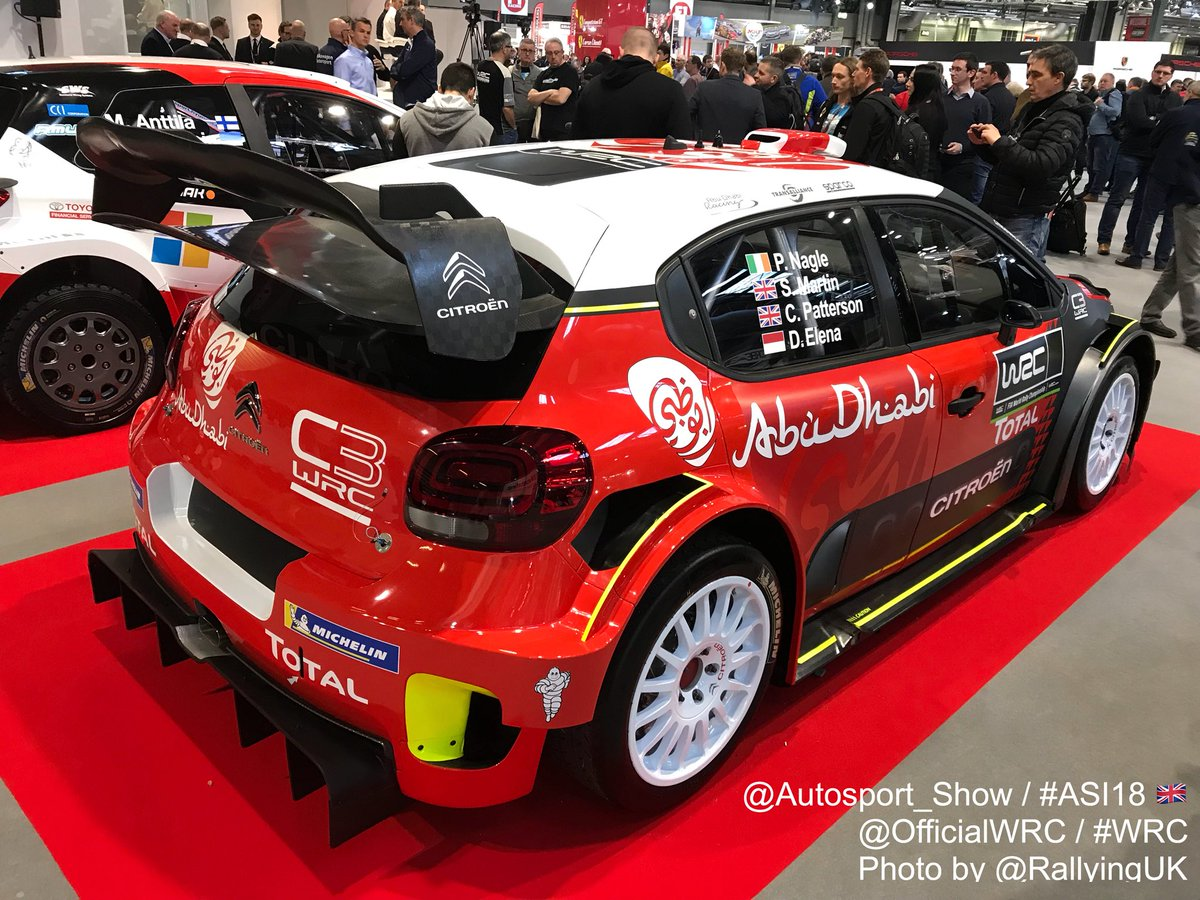 rallyinguk on twitter citro n racing here 39 s citroenracing 39 s c3 wrc for 2018 revealed at. Black Bedroom Furniture Sets. Home Design Ideas