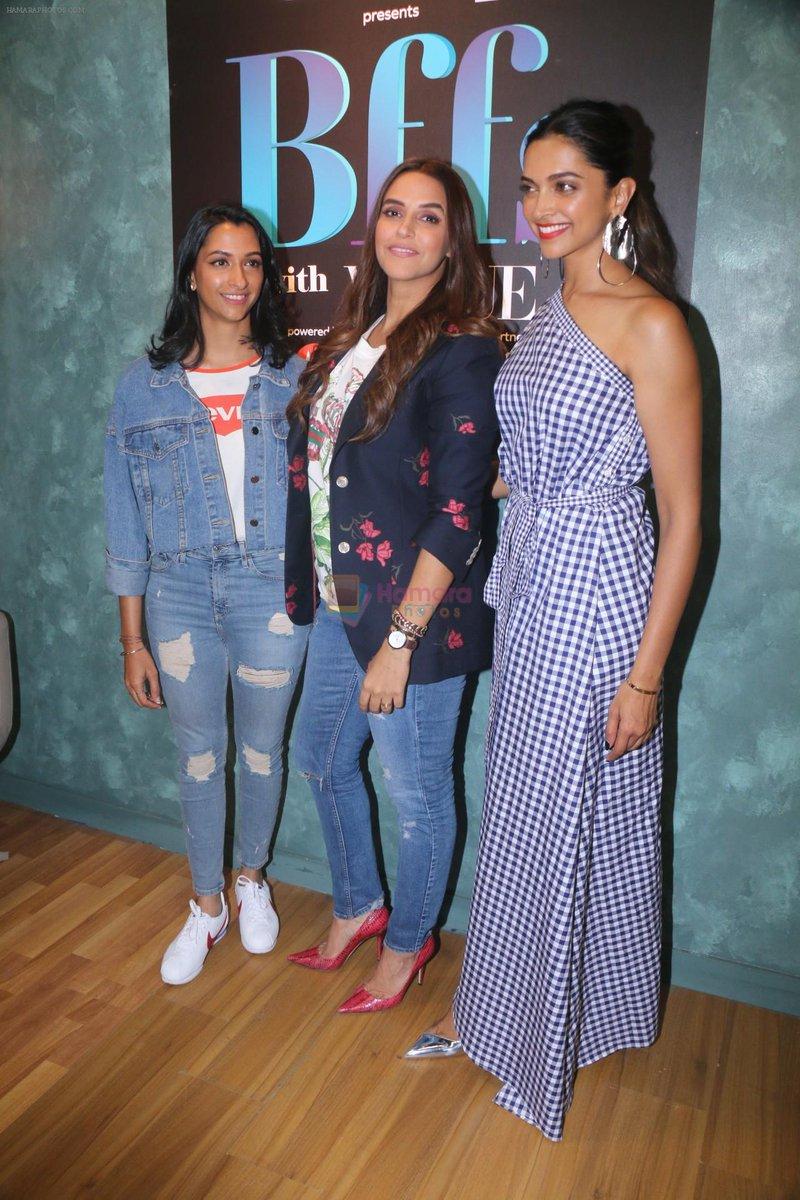 Deepika Padukone On Vogue Bffs With Anisha 12