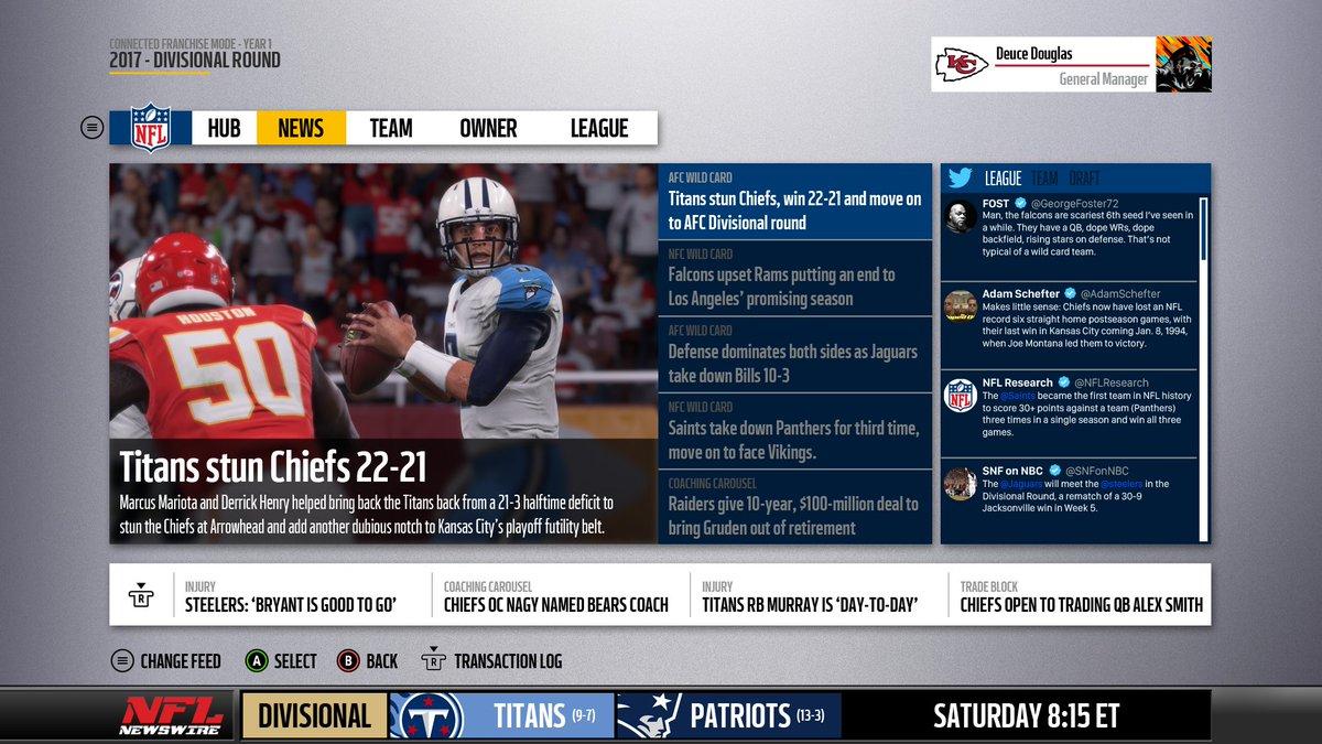 Madden NFL 19 Franchise Mode Details - Schemes, Player Progression