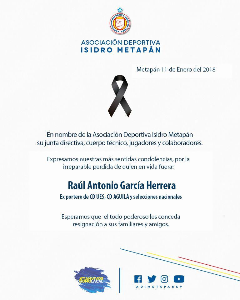 Fallecio Raul Antonio Garcia 1962-2018. DTR-tuBXUAARPT0