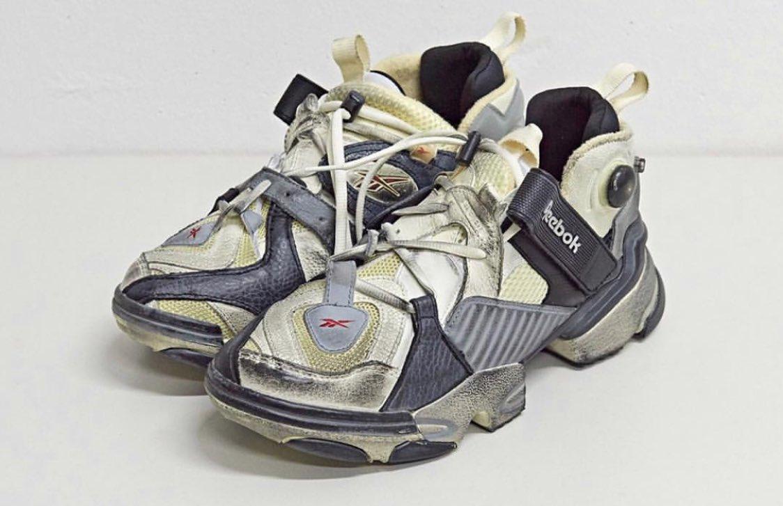 6b966030f990c Los  ReebokMx de Vetements. Les dije que los ugly shoes serían una  tendencia que