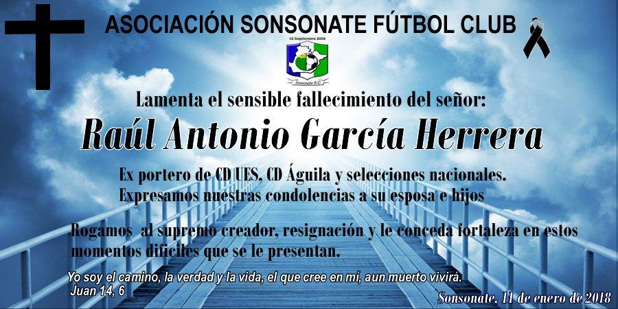 Fallecio Raul Antonio Garcia 1962-2018. DTR1khNXkAEkCTA