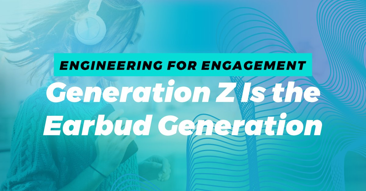 #PandoraCES Engineering for Engagement: #GenerationZ is the Earbud Generation https://t.co/bKzYZXrOHF #CES2018