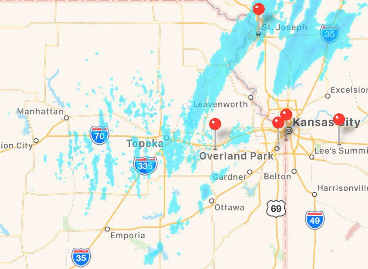 Kansas Roads Conditions Map Kansas road conditions comparative radar | Scoopnest
