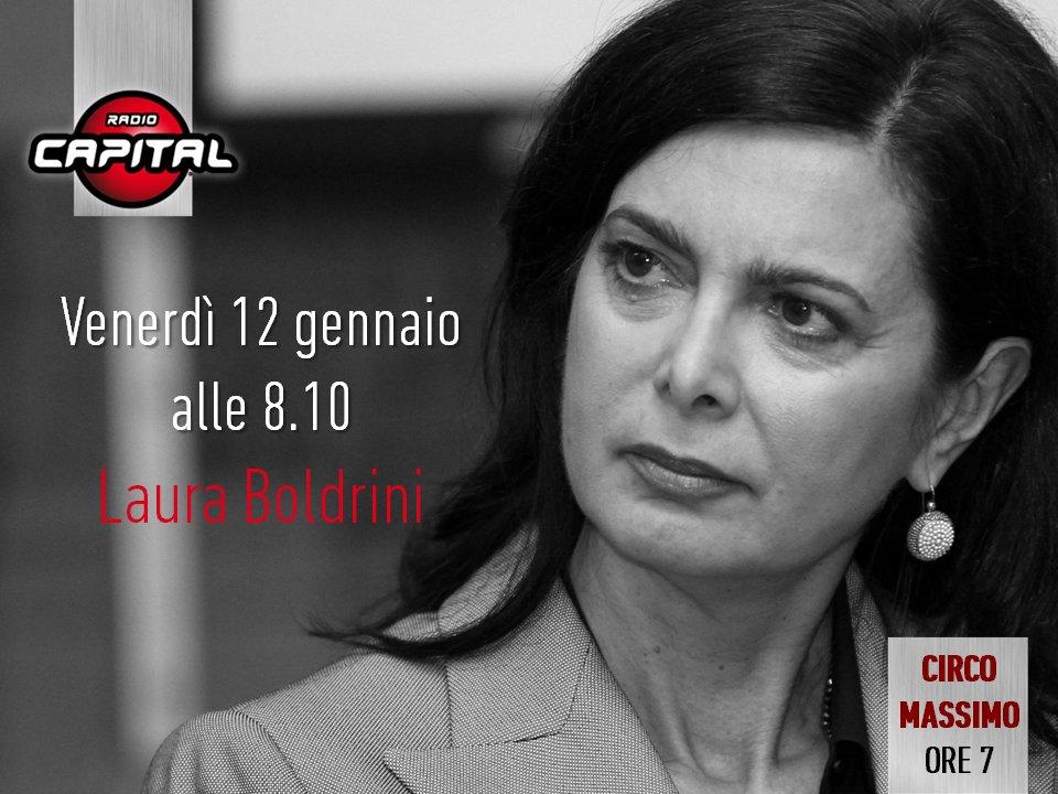 A domani!  @lauraboldrini  #CircoMassimo...