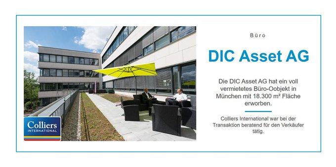 Deal der Woche:<br><br>Colliers International war bei der Transaktion eines Bürogebäudes in München mit 18.300 m² Fläche beratend für den Verkäufer tätig. <br>Informationen zum Büroinvestment:  t.co/4on1ys7th1
