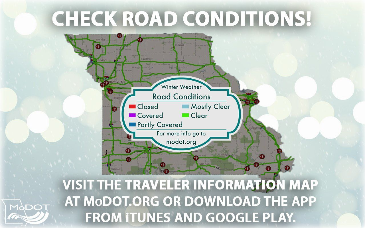 state of missouri on twitter when the ground temperature is  -  any precipitation can create hazardous driving conditions always checkthe modot traveler information map for road conditions before heading out