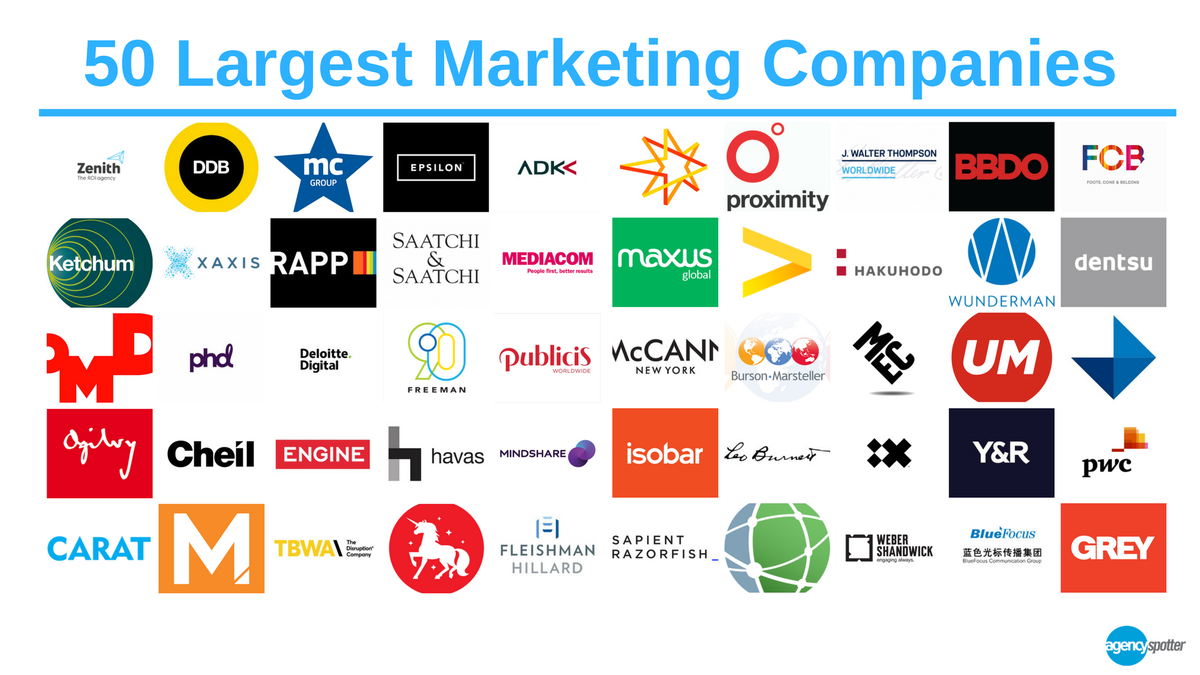 Biggest Marketing Agency In New York The Best Marketing Agencies in