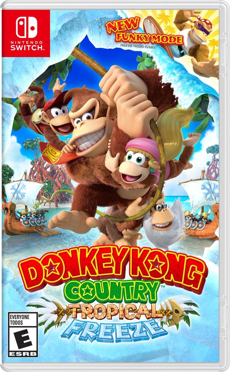 Donkey Kong Country: Tropical Freeze Nintendo Switch  DTRL5CMWkAAFhE6