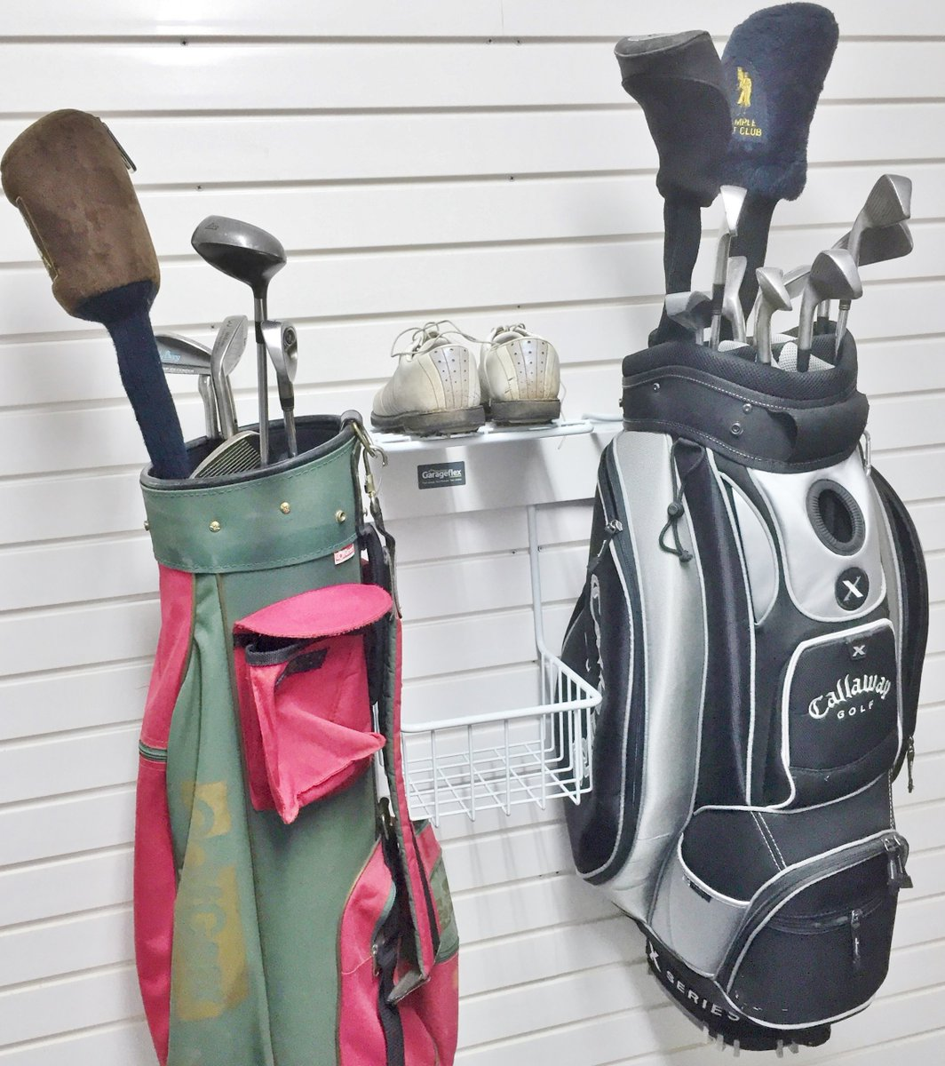 Garageflex On Twitter Perhaps You Are Already Imaginging Your Next Golf Holiday But Where Do You Store Them In The Interim Store Them On Your Garage Wall Of Course Https T Co Rpt5ybjkct Garageflex Golfstorage