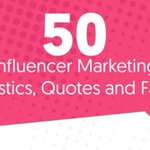 50 #InfluencerMarketing Statistics, Quotes and Facts by @influencerMH https://t.co/Ai5w4xut99