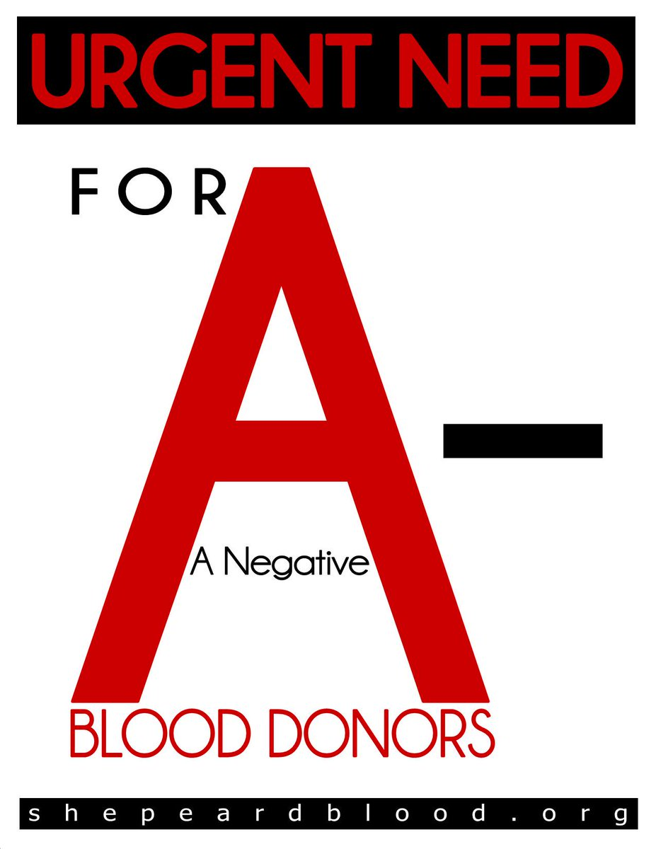Buddy The Blood Drop On Twitter We Have An URGENT NEED For A NEGATIVE B POSITIVE O And BLOOD Help Us Keep Up Supply With