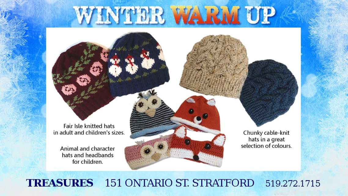 bd416b51129f68 We have LOTS of fantastic #handmade hats! Bring your head in, and we'll  find you the perfect hat to keep it warm and toasty all #winter!pic.twitter.com/  ...
