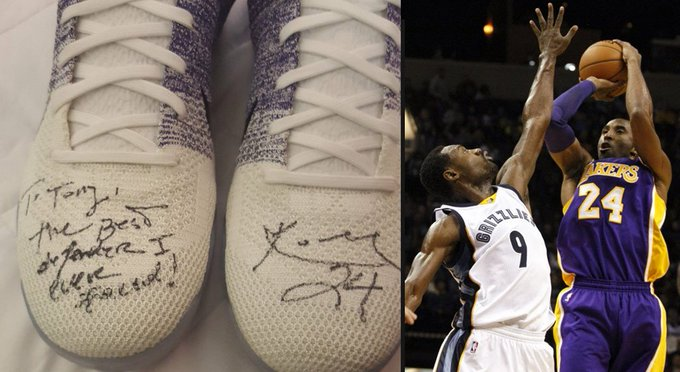 """Happy birthday to Tony Allen aka The Grindfather aka \""""the best defender Kobe ever faced\"""""""