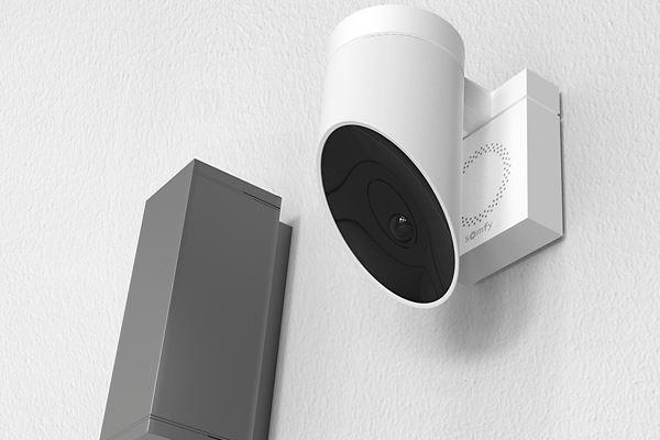 smartphone somfy outdoor camera ifttt alexa google assistant installation somfy outdoor camera