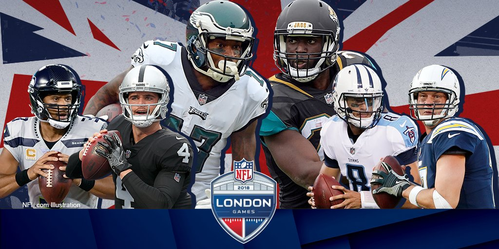 Chargers to play Titans in London in 2018