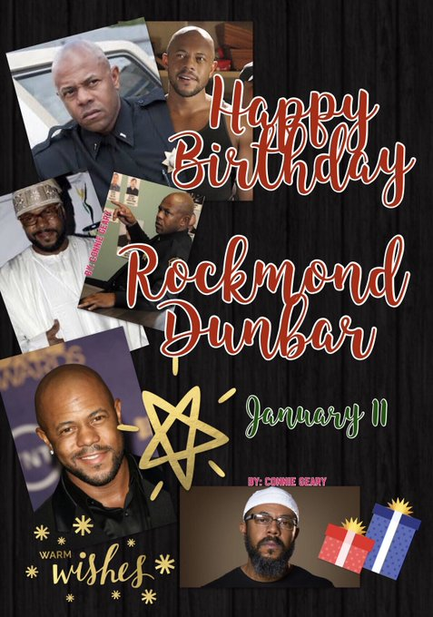 Please join in wishing Rockmond Dunbar (SOAs Roosevelt) a very Happy Birthday with many more to come -