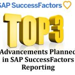 Are you up-to-date with the latest planned advancements in #SAP #SuccessFactors Reporting? Here are our top three favorites: https://t.co/VQq5MMKsmL