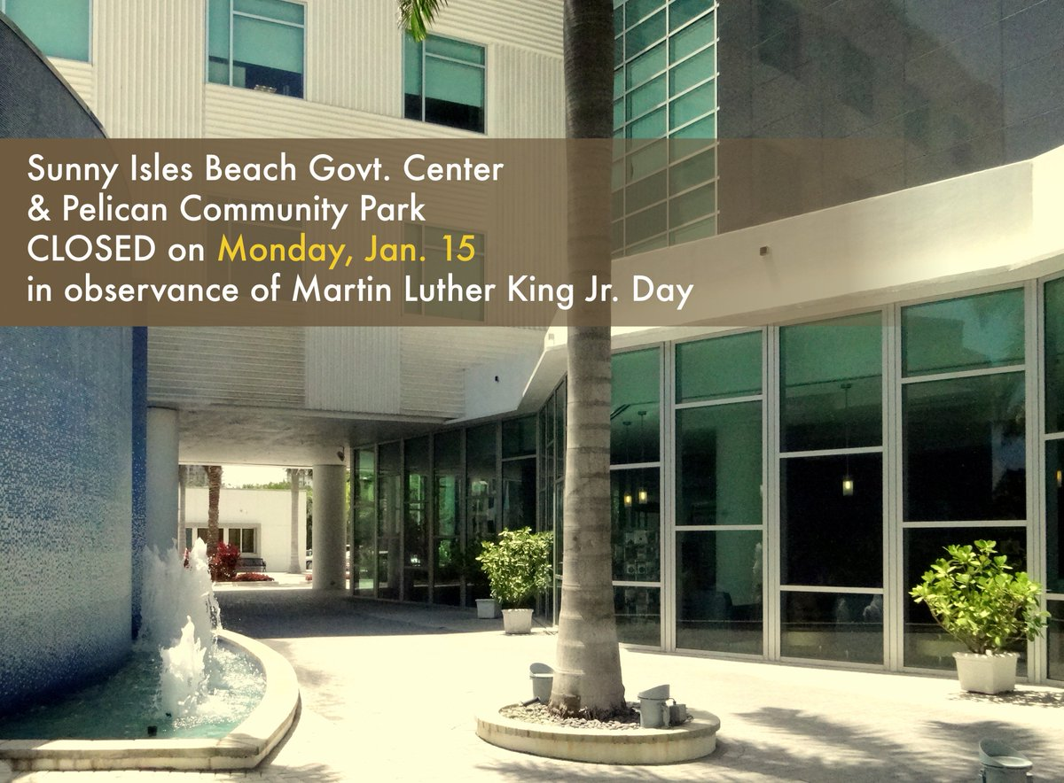 in observance of martin luther king jr day this includes the sib branch library and the post office the sibshuttle will run on a normal schedule