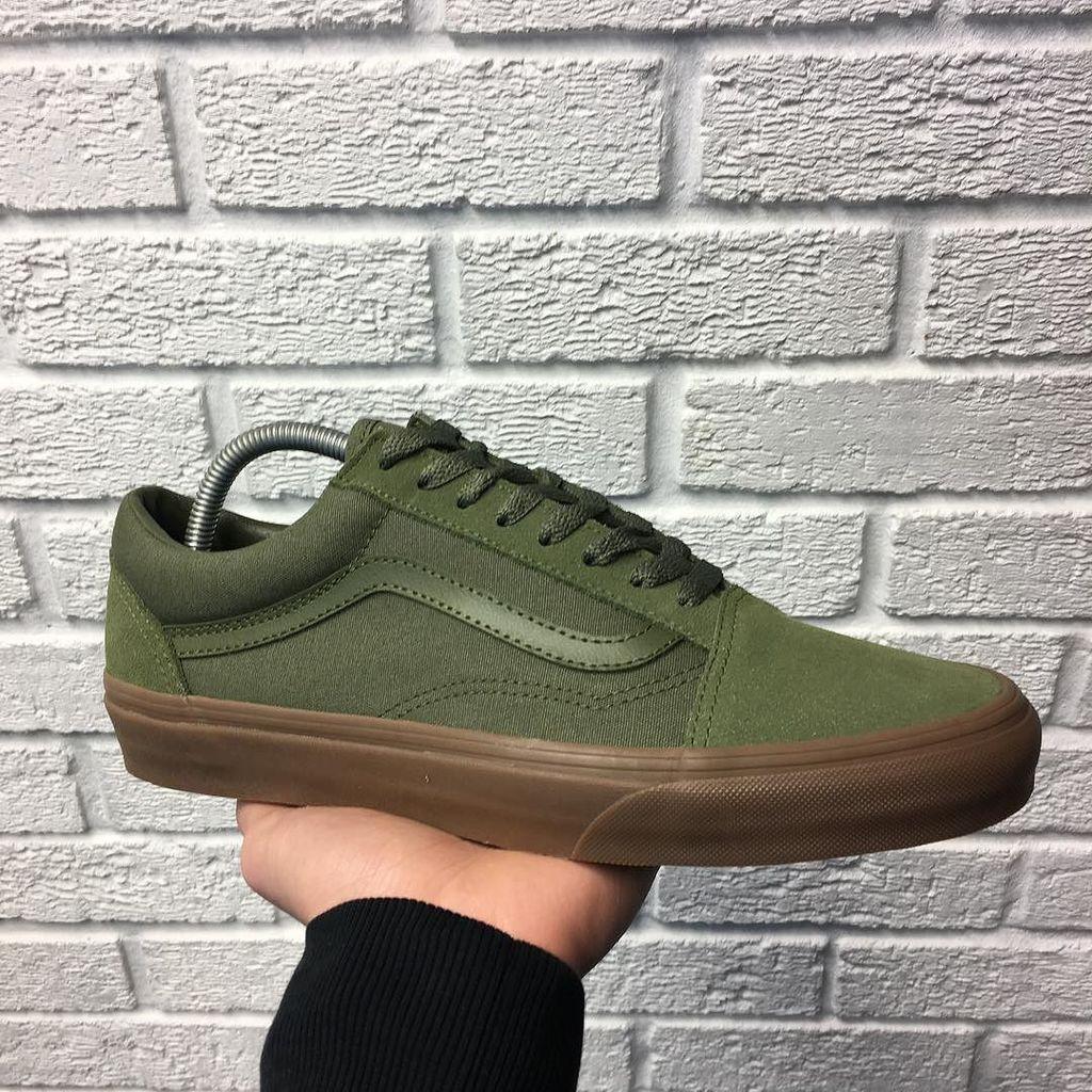 Vans UA Old Skool (green/gum sole
