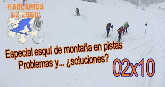 @ValleBenasque En busca de la convivencia entre el esquí de montaña y el alpino en las pistas de las estaciones. ¿Es posible? Análisis en profundidad del problema que está surgiendo. Escúchalo en https://t.co/3v8t1NJ7e2  o en nuestro blog de @nevasport: https://t.co/k0mEn77WE3