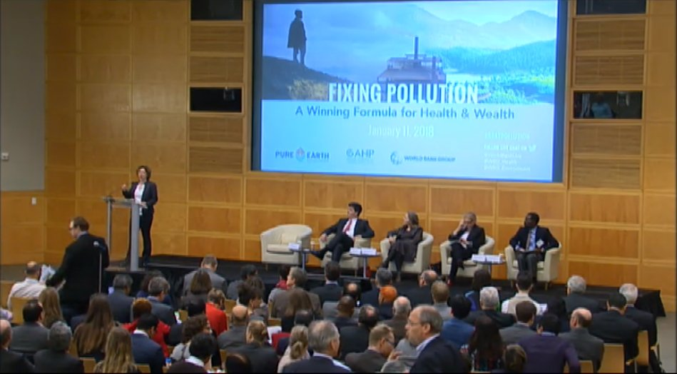 LIVE NOW:  Fixing Pollution: A Winning Formula for Health and Wealth. https://t.co/jG2QCRqU83 #BeatPollution