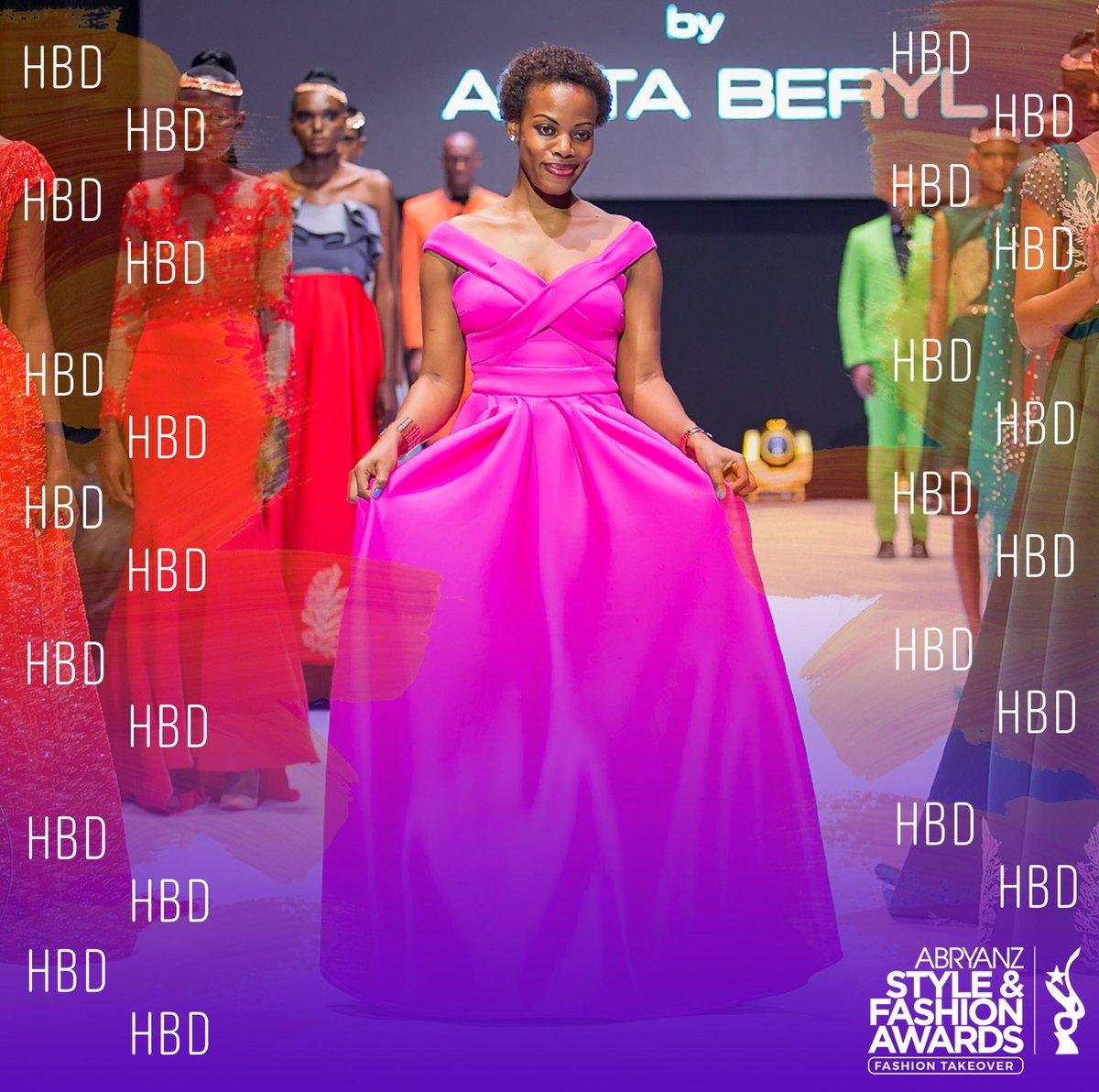 Asfa2020 On Twitter Happy Birthday To Ugandan Celebrated Fashion Designer Asfa2016 Winner Anitaberyl Nibstudios