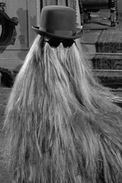 """Happy birthday to Felix Silla, best known as Cousin Itt on \""""The Addams Family.\"""""""