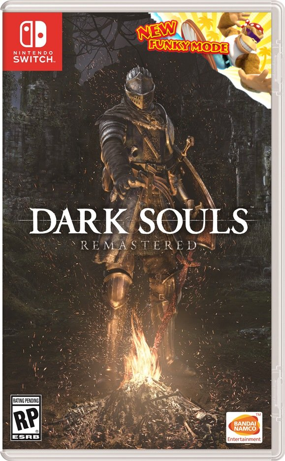 Dark Souls on Switch it is a real thing and I am very excited, god bless and praise the sun. :sunny: DTRqvd6W4AAOZPq