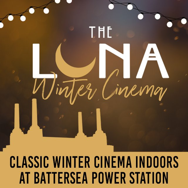 The Luna Winter Cinema is here! Cosy up indoors at Battersea Power Station & beat those January blues. From The Dark Knight, to Paddington, Baby Driver to The Lego Batman Movie, there's something for everyone. Get your tickets now: https://t.co/9a6Ma9tY4w