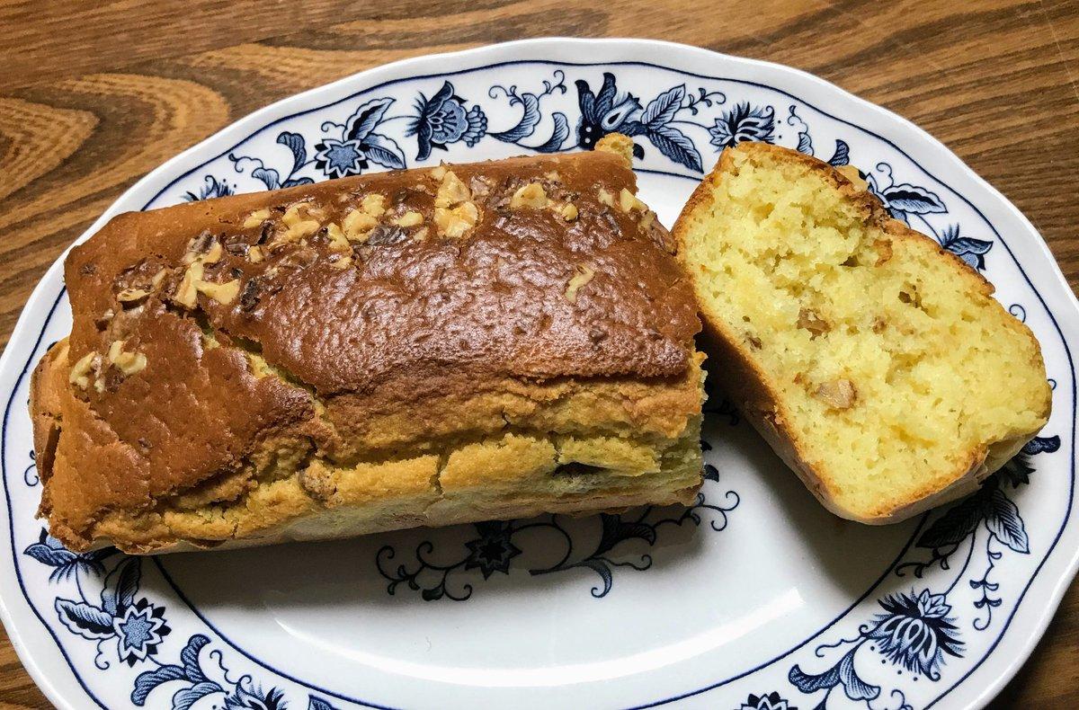 ミックス バナナ パウンド ケーキ ケーキ ホット